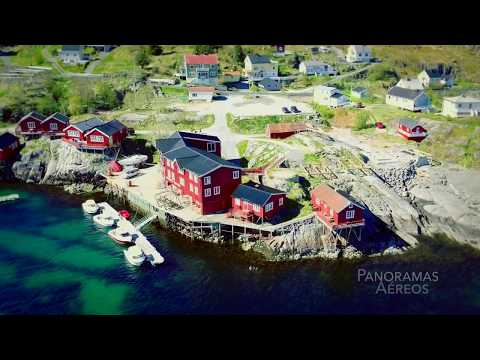 Norway - Lofoten aerial view (part 1)