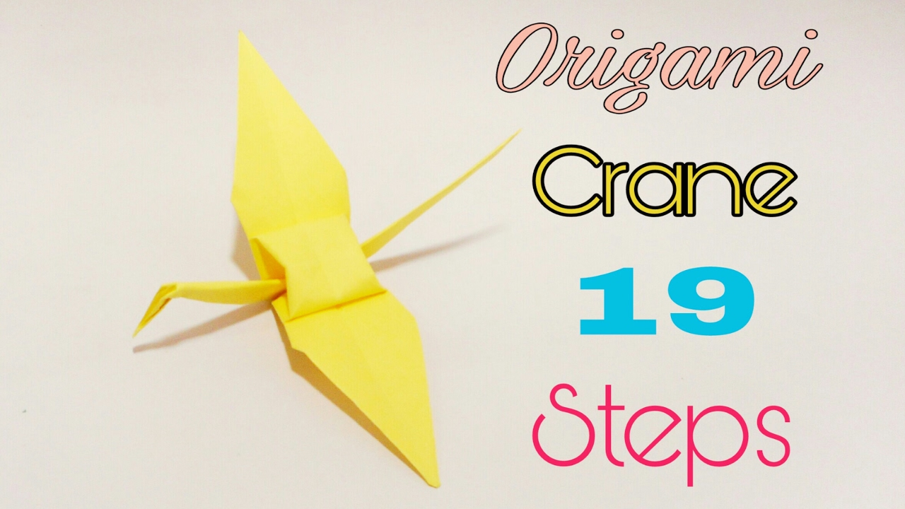 Origami Heart crane, part one | Best gift for valentine day ... | 720x1280