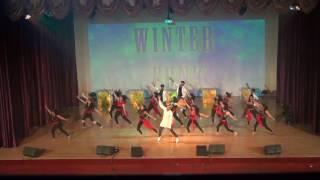 shiamak uae winter funk 2016 opening act spb instructors