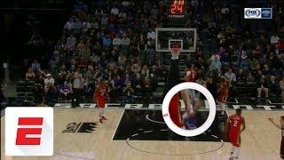 Anthony Davis hurts ankle, heads to locker room   ESPN
