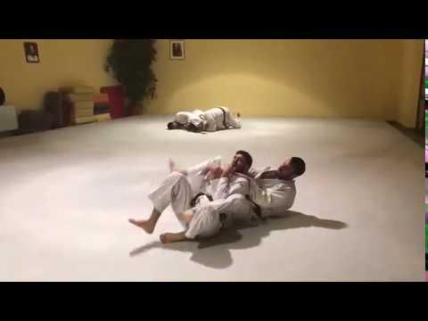 Randori a terra Judo