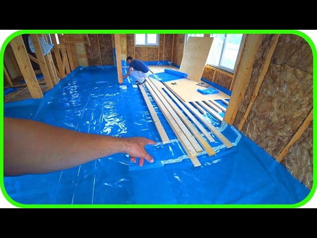 Пароизоляция своими руками! Как построить дом своими руками!