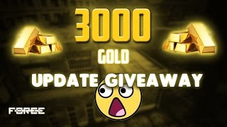 Bullet Force 3000 Gold Update Giveaway!