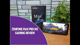 ASUS Zenfone Max Pro M2 Gaming Review with PUBG Mobile  Heating and Battery Drain