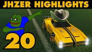 JHZER Highlights Montage 20 | Competitive Rocket League