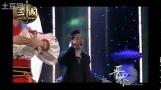 三国安徽卫视首映礼演出罗晋,年轻中国演员.