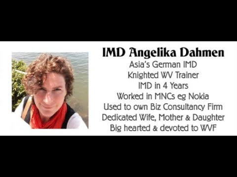 Weekly Teamcall with IMD Angelika Dahmen from Singapore