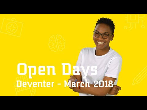 Open Day in Deventer 📚March 2018 | Saxion University of Applied Sciences