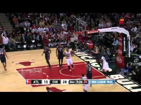 Hawks vs. Bulls | Game Recap  | NBA 2012-13 Season 14/01/2013