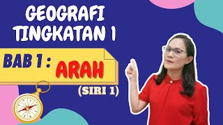 GEOGRAFI TINGKATAN 1 BAB 1 : ARAH