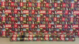 STAR WARS CHRISTMAS WRAPPING PAPER - BY HALLMARK UK