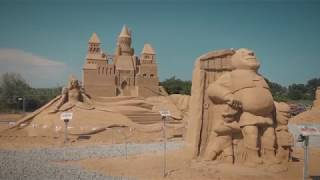 The Sand Sculpture Festival awaits you!