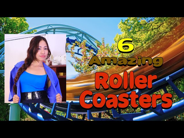 6 Amazing ROLLER COASTER POV front seat compilation Video MUST See | Roller Coaster Ride POVs