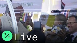 Pope Francis Kisses Babies Among Crowds During Visit to Thailand