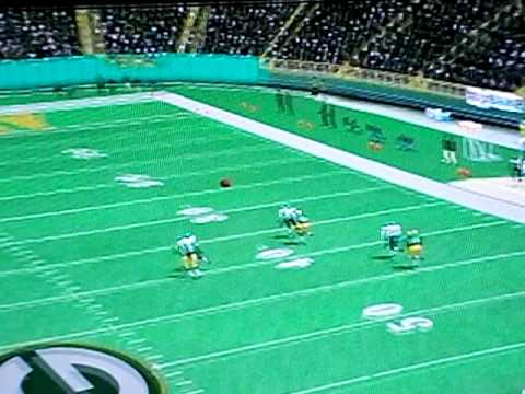 NFL 2K3: Brett Favre to Robert Ferguson 69 yards
