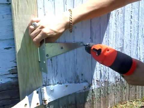 Barn Door Repair
