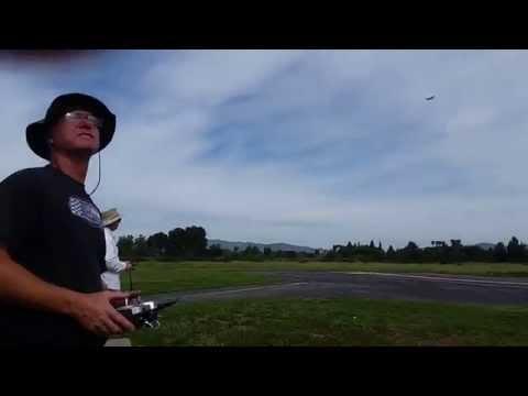 Banana Hobby Stock R/C Mig-29 twin-70mm  flight Van Nuys,CA