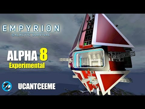 Empyrion Galactic Survival | Alpha 8 Exp | NEW BASE TOUR | NEW TRADING STATION | Ep. 22
