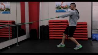 Функционална тренировка с ластик (Видео урок) / Functional training with resistance band