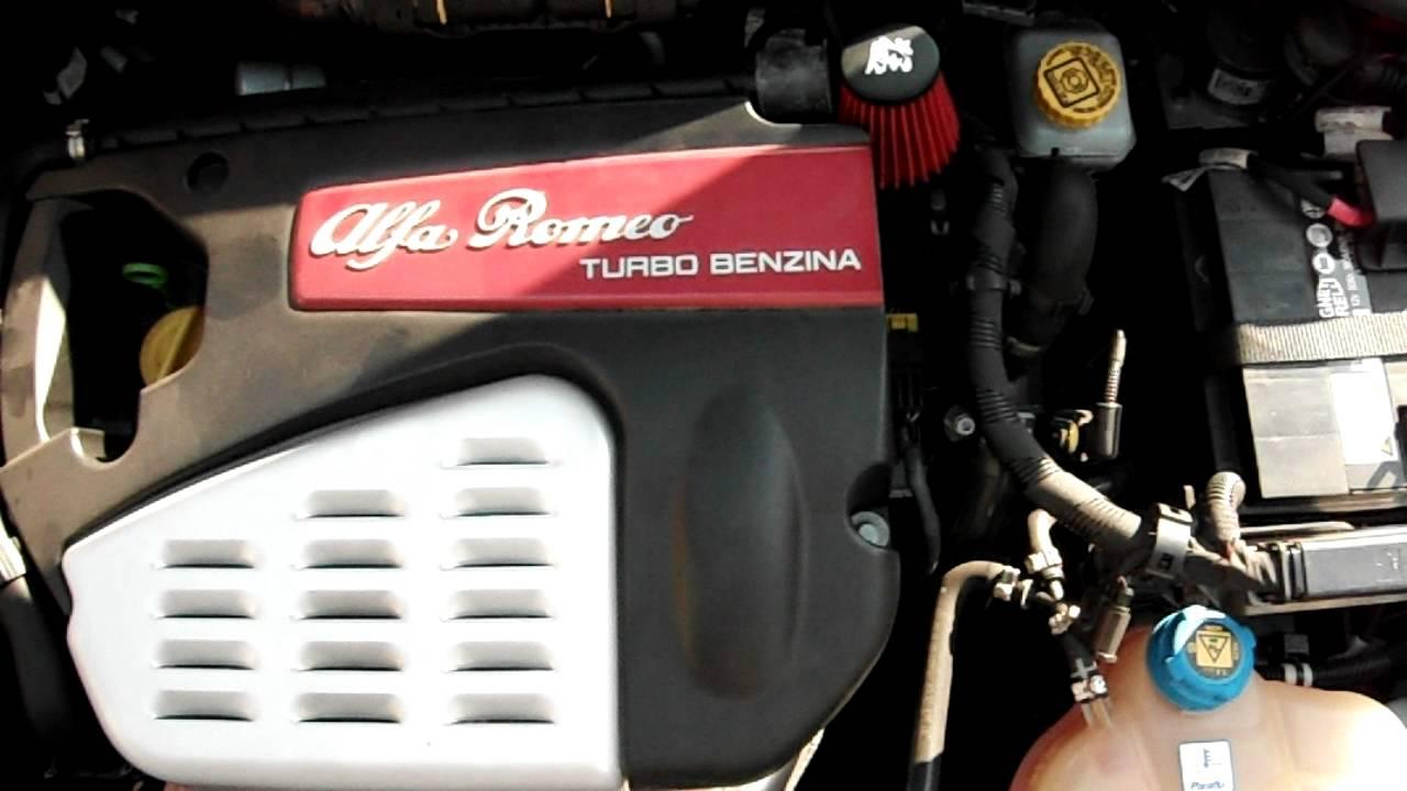 Alfa Romeo Mito >> Alfa MiTo 1.4 Turbo Benzina Valvola Pop-Off - YouTube