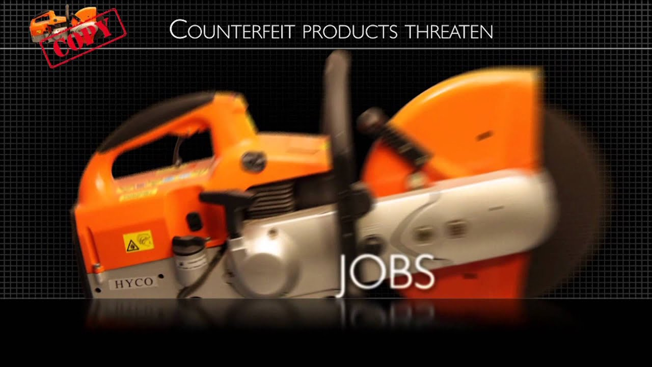 Warning: Don't Be Fooled by Counterfeit STIHL Products