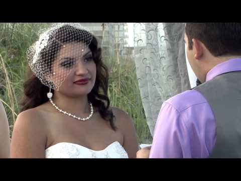 waldron wedding video - 9-8-14 Lori Wilson Park Cocoa Beach Wedding