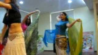 Repeat youtube video me& shalu in belly dancing class
