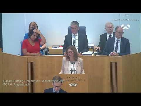 60. Landtagssitzung Rheinland-Pfalz vom 21.06.2018 komplett