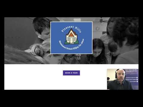 Hubbli Enrollment Marketing Website review for Pleasant Hills Montessori School