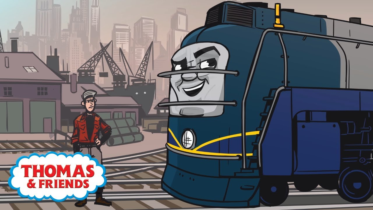 Vinnie Is Back in America | Great Race Friends Near and Far | Thomas & Friends
