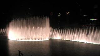 Dubai Fountain Arab song