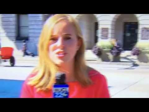 Live news report in Savannah Ga.