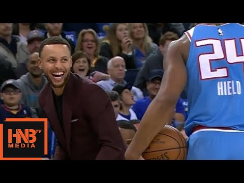 The Warriors' Bench Goes Crazy After Losing Buddy Hield