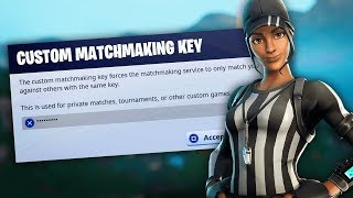 Fortnite Custom Matchmaking Live - Code - crt8 - Solo's, Duos & Squads DC'd #1