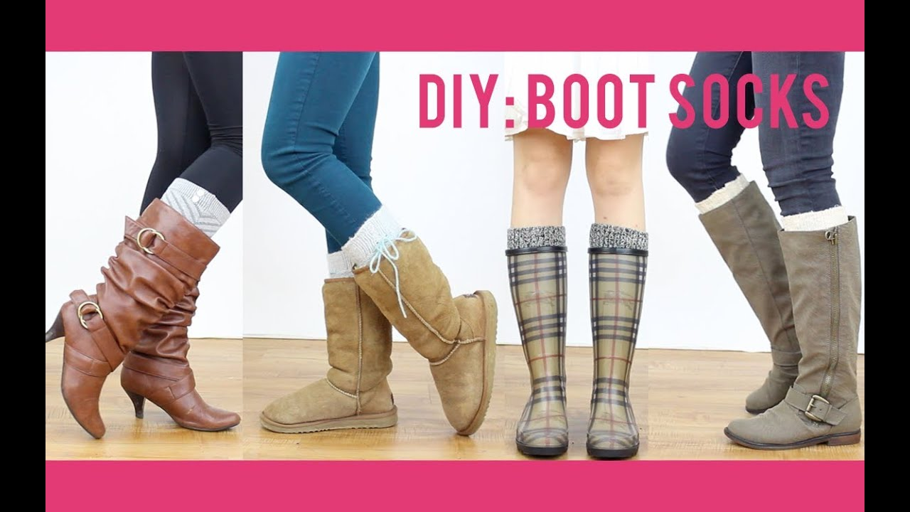 - DIY Tutorial: Boot Socks Miss Louie - YouTube