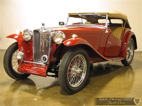 Mg Cars For Sale >> 1948 MG TC 2 Time Concours d'Elegance Winner - YouTube