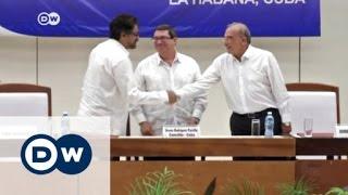 اتفاق سلام بين الحكومة الكولومبية ومتمردي
