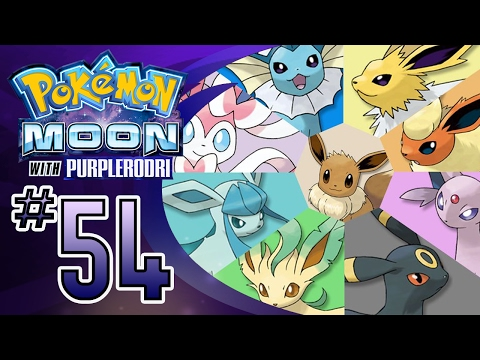 Let's Play Pokemon: Sun and Moon - Part 54 - The Eeveelution Users!