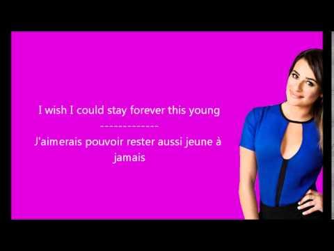 Glee Wake Me Up Paroles Traduction Youtube