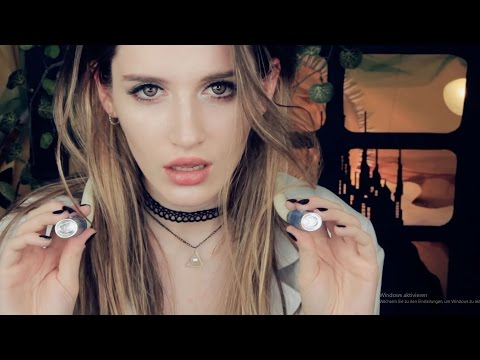 ASMR - MOST ASKED COME BACK of a deleted video! MEDICAL EXAM BY A VAMPIRE!