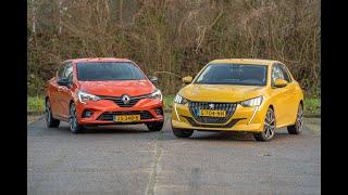ANWB Dubbeltest Peugeot 208 vs. Renault Clio 2020 (WELKE FRANSE B-SEGMENTER IS HET BESTE VOORNEMEN?)