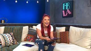 Real Sharna Burgess was Live and talking about Dancing with the Stars