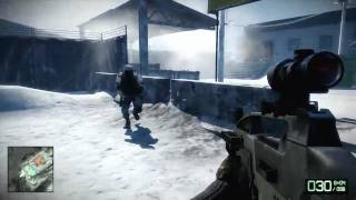 Battlefield Bad Company 2 Mission 5 Operation Crack The Sky Part 1 of 2