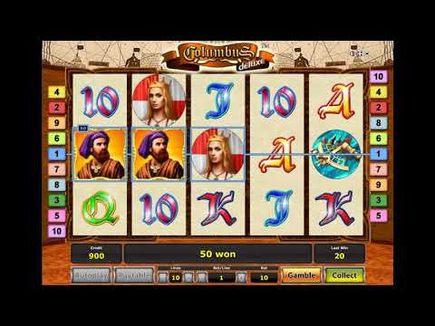 Игровой автомат COLUMBUS DELUXE играть бесплатно и без регистрации онлайн