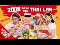 Thử thách 200k mua đồ ăn vặt Thái Lan - Đón tiếp người bạn đặc biệt - Lio trở thành người Thái