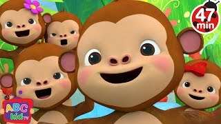 Five Little Monkeys Jumping On The Bed 2 More Nursery Rhymes Kids Songs CoCoMelon