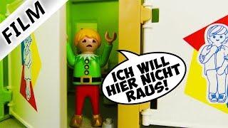 Playmobil Film Deutsch HANNAH MIT SCHULUNIFORM! GANZE SCHULE LACHT SIE AUS! Familie Vogel