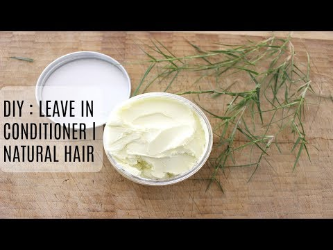 DIY Leave In Conditioner | NATURAL HAIR (Curly And Frizzy Hair)