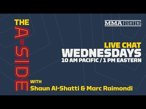 Live Chat: T.J. Dillashaw's Failed Drug Test, UFC PPV Deal, Jorge Masvidal, UFC Nashville, More