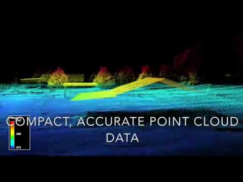 World First LiDAR Survey with Gas-Electric Hybrid Drone